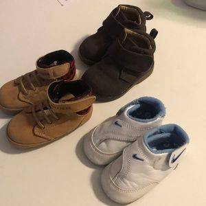 Lot 3 pairs Nike play 3C tommy 3 faded glory 3